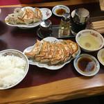 62249828 - 焼餃子定食850円