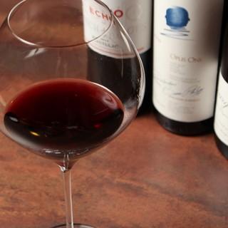 肉には赤ワイン