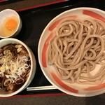 小平うどん - 【2017.1.30】肉汁うどん肉増し¥800