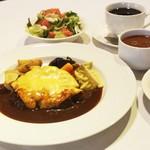 モズライトカフェ - チーズハンバーグステーキ