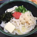 さか枝うどん 春日店 - 釜バター明太うどん