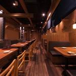 かいえん 海鮮と日本酒の専門店 - 貸切時最大55名様迄対応可能です。