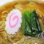 ラーメン華 - ナルト、小松菜