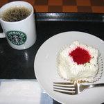 スターバックス・コーヒー - 2010/12 ホリデーデコレーションケーキ