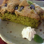 旧白石和太郎洋館 喫茶和太郎 - 料理写真:2010・12月のケーキ・抹茶かのこ