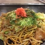 とうりゃんせ - 太麺の焼きそば