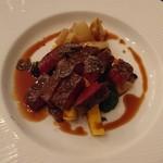 レストラン コーイン - 北海道産和牛のソテー