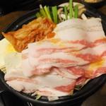 坐・和民 - キムチチゲ鍋