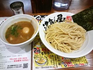 つけ麺 津気屋 武蔵浦和 - 特製津気屋つけ麺(\930)