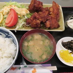 62268356 - 鶏から揚げ定食