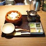 Grill&Wine TOSAKA - 鶏ひつまぶし 1000円