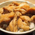 Grill&Wine TOSAKA - 鶏ひつまぶし 1000円 の鶏ひつまぶし