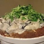 62269635 - 牡蠣の土手鍋