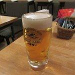 巡礼街道の洋食屋35 - 生ビール2017.02.06
