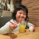 巡礼街道の洋食屋35 - オレンジジュース2017.02.06