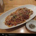 巡礼街道の洋食屋35 - ミートソーススパゲッティ2017.02.06