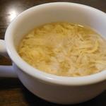 レストランロッシュ - 玉子スープ