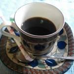 ステーキ&ワイン蔵 - コーヒー。