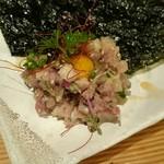 経堂カンザワ - 鮮魚のユッケ