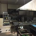 大西麺業 - 電機は点けども、製麺所内は人の姿が見当たりません^^;