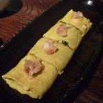 味噌鐡 カギロイ - もろ味噌大根のジャコと九条葱の出し巻き卵(750円)♪