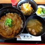 亜和膳 - ホルモン丼定食