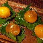 味噌鐡 カギロイ - 卵黄黄金漬け(450円)!とってもあっさり☆