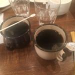 神田岩本町style - コーヒー飲み放題。カップ熱い!