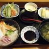 普賢寿司 - 料理写真:ちらしランチセット@850
