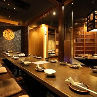 洗練された料理と雰囲気が満喫できる大人が楽しめるお店☆