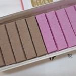 千本玉壽軒 - チョコレートと桜が5本づつ