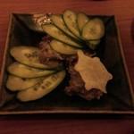 すっぽん料理専門店 スッポンバル カミツキ  - 蟹味噌、蟹身和え