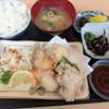とっと食堂 - 料理写真:タコ天ぷら定食 800円