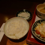野菜割烹 あき吉 - ご飯