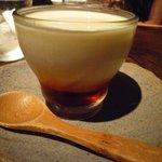 味噌鐡 カギロイ - 牛乳味噌プリン(400円)☆