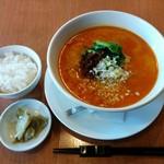 62290265 - 担々麺(ランチタイムご飯とザーサイ付き880円)