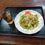 ママキッチン 味々亭 - 焼きそば(500円)2017年2月