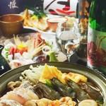 魚楽 - 2月限定のお得なコース!海鮮をふんだんに使った鍋が美味!