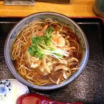 蕎麦処 大宣 - かき揚げ蕎麦 ¥750