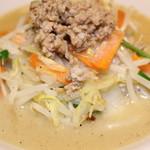 富士タンメン - 名物濃厚鶏白湯タンメン