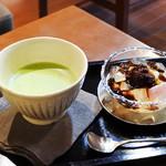 花想容 カフェ - お抹茶/あんみつ
