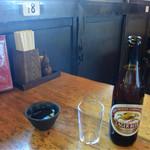 山門前 もみじや - 瓶ビール 630円