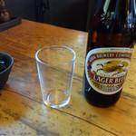 山門前 もみじや - 麒麟ラガービール