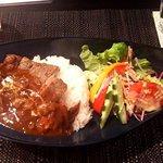 Steak and STAUB YOKOHAMA - ステーキ&ハヤシライス(150g)(2017.1)