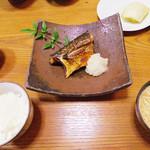 62298909 - 【北新地でランチ】 焼魚定食 \1100