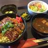 庵亭 - 料理写真:味噌カツ丼ランチ通常700円→500円