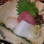 ごっ惣 - 旬の活け魚 つまもの 熟成醤油