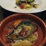 トラットリア エ ピッツェリア アミーチ - ムール貝のパン粉焼き