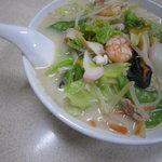 龍華園 - テレビで紹介されたちゃんぽん麺です。是非ご賞味下さい。