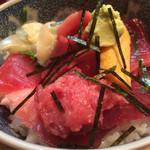 割烹 和知 - 鉄火丼1100円税込